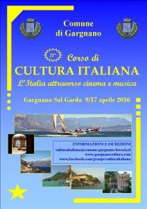 11mo Corso di Cultura italiana a Gargnano